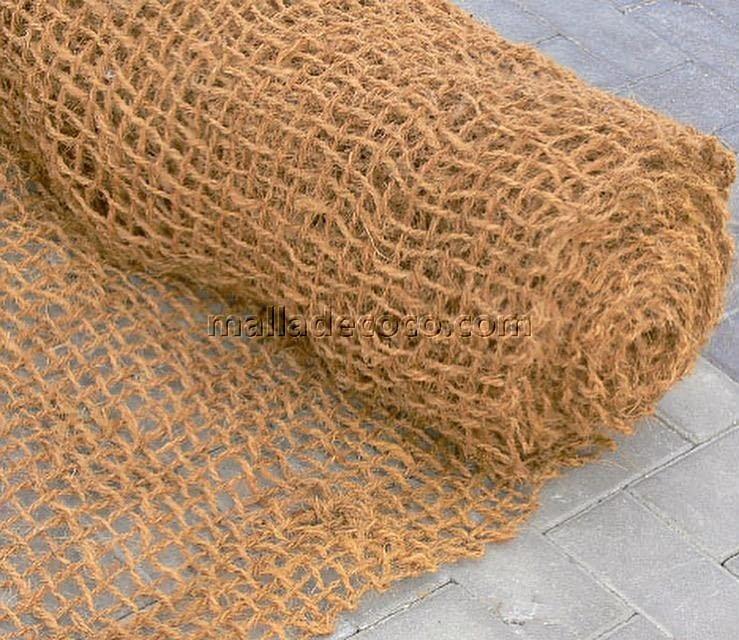 Rollos de malla de coco red ecológica